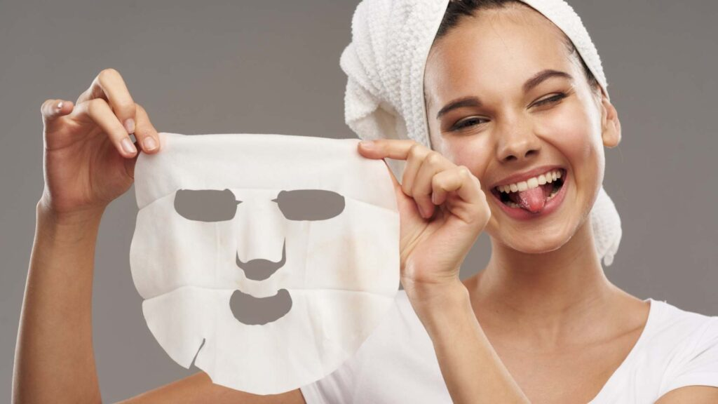 Mask sheet for night use